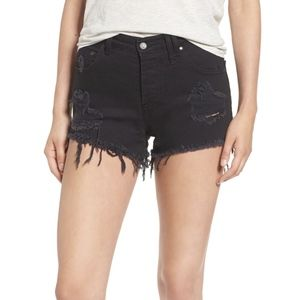 NWT Sincerely Jules Riley Denim Shorts Sz S/4